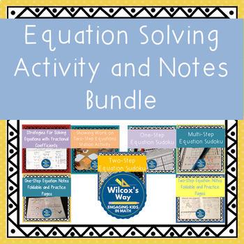 Equation Solving Bundle