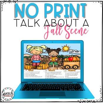 No Print Fall Talk About a Scene