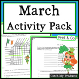 50% off 24 Hrs. - March Activities Bundle