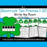 Shamrocks Write the Room (Ten Frames 1-20)