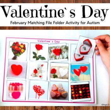 Valentine`s Day Matching Activity