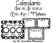 Calendario para su pared! - Editable Spanish Calendar & Bi