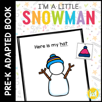 I'm a Little Snowman: Adapted Book for Early Childhood Spe