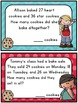 Math Word Problems Task Cards & QR Codes for 2nd Grade Com