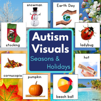 Seasons & Holidays Bundle for Special Education and Speech