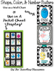 Shapes, Colors, & Number Posters  {Black & White Polka Dot}