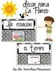 Spanish Weather & Seasons Set - La estación y el tiempo