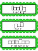 St. Patrick's Day Literacy Center + Pocket Chart/Wall Cards