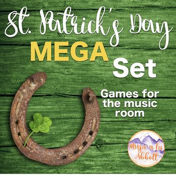 St. Patrick's Day MEGA Set of Games for the Music Room