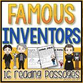 Famous Inventors Reading Passages
