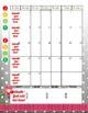 Teacher Planner - One Page Calendar 2016-2018 Black & Whit