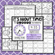 Telling Time in 5 Minute Intervals Task Cards