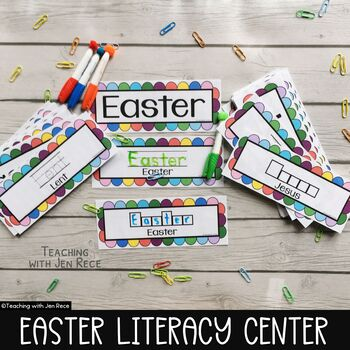 EASTER Literacy Centre - Write it & Wipe it!