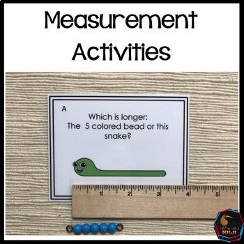 Montessori math: Measurement Activities