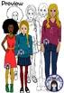 Teens and Teenagers Clip Art Bundle
