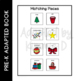I'm a Little Christmas Tree: Adapted Book for students wit