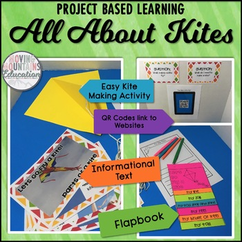 Spring Activities: All About Kites Informational Texts Pro