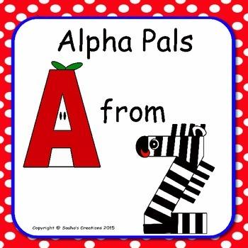 Alpha Pals Alphabet