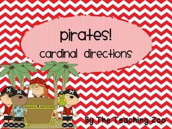 Pirates Cardinal Directions Signs