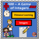 500:  A game of Positive and Negative Integers