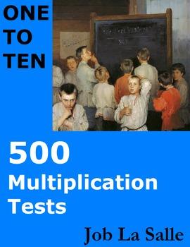 500 Multiplication Tests