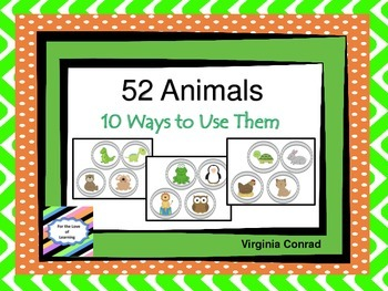 Animal Cut Outs and 10 Ways to Use Them