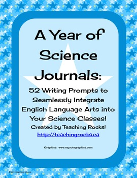 52 Science Journal Prompts to Integrate Writing in the Sci