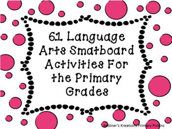 61 Language Arts Smartboard Activities