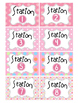 56 classroom labels with cute owl design PLUS round ABC Ro