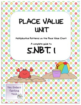 Common Core 5.NBT.1  Place Value Unit