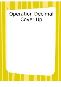 5.NBT.7 Decimal CoverUp Game
