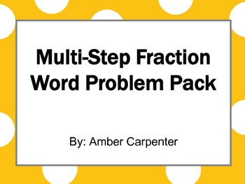5.NF Adding, Subtracting, and Multiplying Fractions Multi-