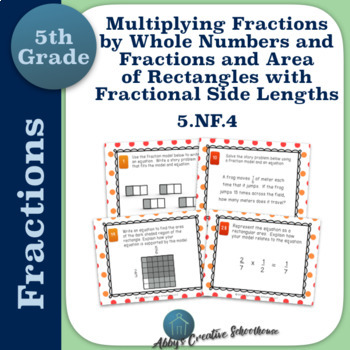 5.NF.4 Multiplying Fractions & Rectangles w/ Fractional Si