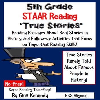 5th Grade STAAR Test-Prep Reading Passages, Interesting Tr