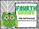4th Grade Art Project-Silly Self-Portrait