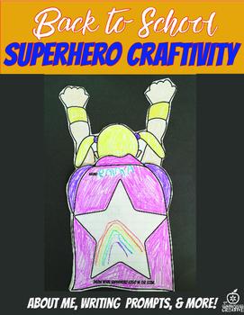 5th Grade Beginning of the Year Flipable Craftivity {Super