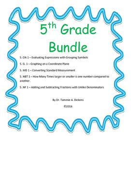 5th Grade Bundle