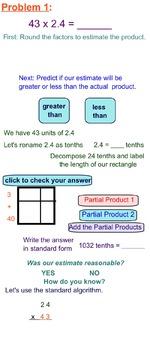 5th Grade CC Math Module 2 Topic C Lessons 10-12