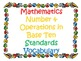 5th Grade CCSS Math Vocabulary Cards Set 1