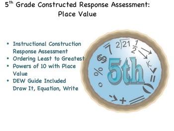 5th Grade CRA: Place Value
