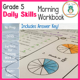 Grade 5 Daily Skills Morning Workbook