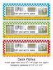 5th Grade Common Core Editable Desk Plates: Dots (4th Grade Too)