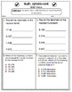 5th Grade Common Core Math Assessments: Number and Operati