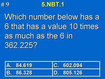 5th Grade Common Core Math Comprehensive Practice Bundle Pack