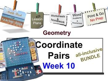 Week 10 Coordinate Pairs 5th Grade Common Core Math EDI Le