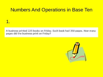 5th Grade Common Core Math End of Year Test Prep