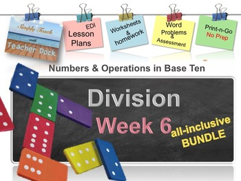 Week 6 Division 5th Grade Common Core Math Lessons
