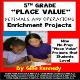 5th Grade Place Value, Decimals and Operations Enrichment