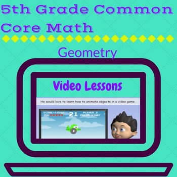 Geometry Review Packet for 5th Grade