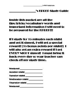 5th Grade Common Core Study Guide